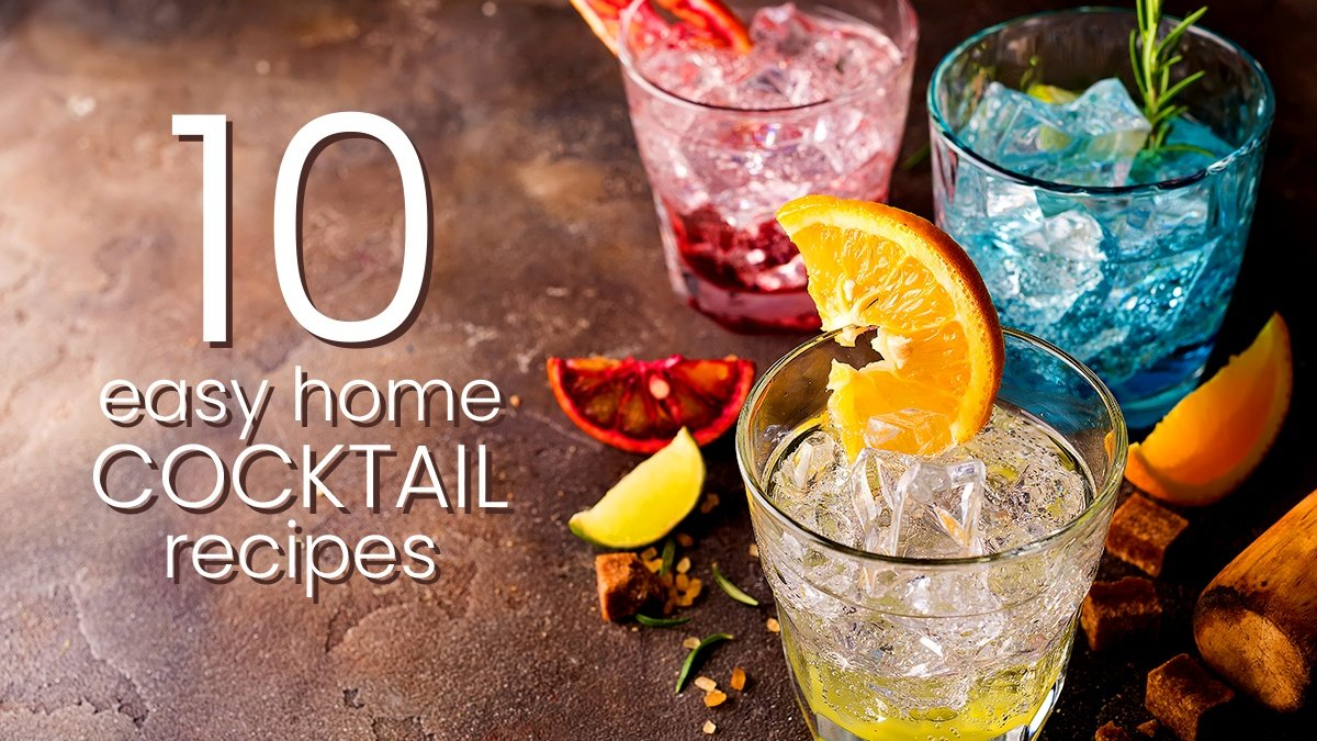 10 Easy Home Cocktail Recipes The Constant Planner