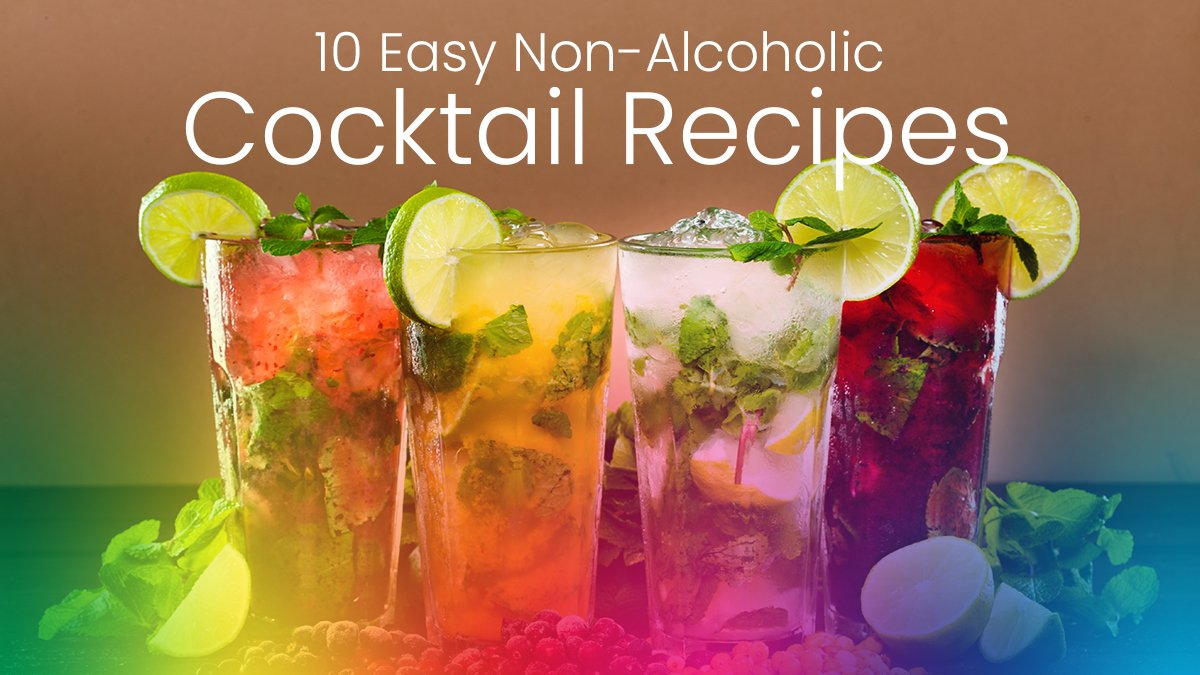 10 Easy Non-Alcoholic Cocktail Recipes